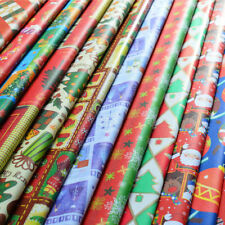5PCS/Lot  75*52cm Cute color  Wrapping Paper For Christmas Gift New Year Gift