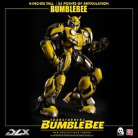 "ThreeA Transformers DLX Scale Collectible Series Bumblebee (Movie Figure) 8"" New"