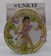 Villeroy & Et Boch Enfants De Le World Unicef No5 India Plaque Neuf Emballé