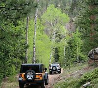 Estes Park Colorado Jeep Wrangler rental