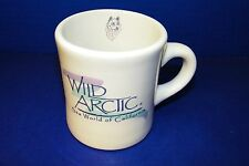 Mug Coffee Cup Wild Arctic Sea World of California Wolfe Sled Dog Extra Heavy