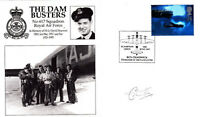 Dam Busters Cover Signed Colin Cole 617 Sqn Wireless Operator / Air Gunner
