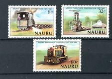 Nauru QEII 1980 Phosphate Locomotives SG224/6 MNH