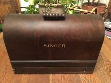 "*KEWL* ViNtAgE ""1922 Singer Shuttle Sewing Machine W/Beautiful Wood Case>>>>>>>>"