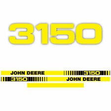 John Deere 3150 tractor decal aufkleber sticker set