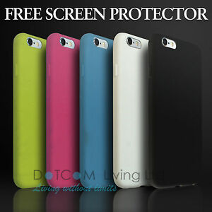 Ultra Thin 0.6mm Soft Silicone Rubber Gel Case Cover iPhone 4/4S/5/5S/6/6s/6Plus