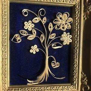 Royal Academy Collection Precious Miniatures Blue Velvet frame Francois Boucher