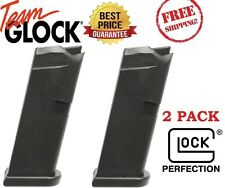 Glock Model G43 Factory 2 Pack - OEM - Magazine 9mm 6 Round with Flat Base Plate