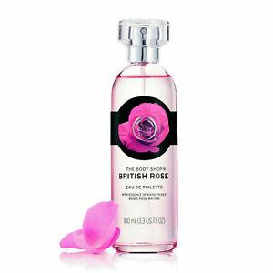 The Body Shop Britannique Rose Eau de Toilette 100