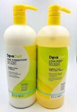 Deva Curl DevaCurl DELIGHT Low-Poo Cleanser 32oz & One Condition 32oz LITER DUO