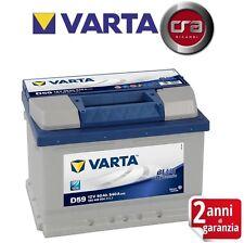 BATTERIA AUTO VARTA D59 60H 540A CHEVROLET NUBIRA Tre volumi 1.8  90KW