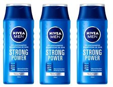 ( 19,10€/ L) 3x 250ml NIVEA MEN STRONG POWER Champú de cuidado MINERALES DEL MAR