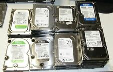 "(Lot of 20) WD & Seagate 500 GB SATA 3.5"" Desktop Hard Drives Tested 500GB"