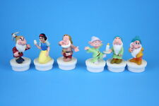 """Disney Nestle Snow White and the Seven Dwarves 2.5"""" Figures - Incomplete Set"""