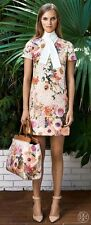 Tory Burch Floral Dress 2  Spring  Beautiful Celeb XS Garden Party S