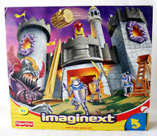 VERY RARE 2002 FISHER PRICE IMAGINEXT MEDIEVAL CASTLE KNIGHTS NEW SEALED MISB !