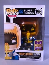 Funko Pop! DC Super Heroes #196 - Interplanetary Batman SDCC 2017 Exclusive