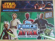 Star Wars Force Attax/Adventskalender/ 50 Karten ink.2 Limitierte/Topps/Neu OVP