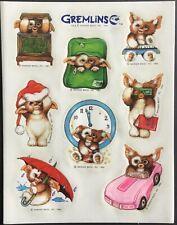 Vintage Stickers - Hallmark - Gremlins - Dated 1984