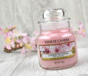 ❀ڿڰۣ❀ YANKEE CANDLE Small CHERRY BLOSSOM Scented CANDLE JAR ❀ڿڰۣ❀ New