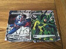 2015 Upper Deck Marvel Vibranium 270 Card Master Set (Includes RawSet) Binder