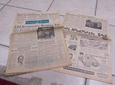 October 10 1965 Baltimore News American Dodgers Win World Series Khrushchev LBJ