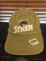 Men's NWOT HATTERASHATS Stren Fish Line Beige Adjustable Hat H146