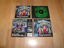 POWER RANGERS LIGHTSPEED RESCUE BY THQ FOR SONY PS1 USED COMPLETE GOOD CONDITION