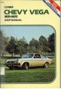 Chevy Vega, 1971-1977 Shop Manual (Clymer Service-Repair Handbooks), New, Combs,