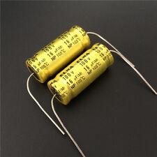 20pcs 16uF 100V ELNA NP 12.5x30mm 100V16uF Bipolar Axial Electrolytic Capacitor