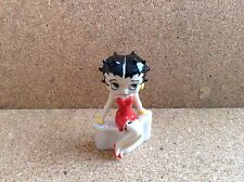 Wade Whimsie Movie Queen Red Dress Approx 1.5 Inches High Betty Boop