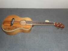 NEW Oscar Schmidt OU11TE Koa/Spalted Mango Acoustic/Electric Tenor Ukulele, A-1
