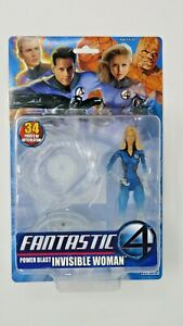 """Toy Biz Marvel Fantastic 4 Invisible Woman 6"""" Action Figure NEW Unopened RARE"""
