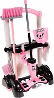 Casdon HETTY CLEANING TROLLEY Pretend Role Play Mop Brush Children's Toy BN