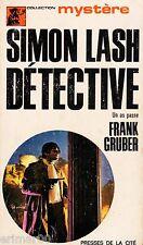 Simon LASH détective / Un as passe // Frank GRUBER // Collection Mystère // 1 Ed