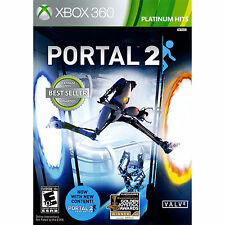 Portal 2 Xbox 360 Brand New Platinum Hits