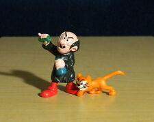 Smurfs 40211 Gargamel & Azrael Cat Smurf Vintage Figures PVC Toy Figurines Lot