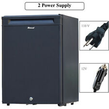 Smad 1.0 cu ft Camper Rv Fridge Domestic Vehicle Cooler Truck 12V Refrigerator