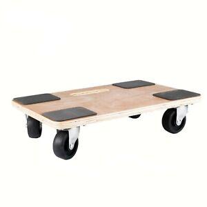 Moving Dolly Furniture Skate Wheeled Trolley Platform Transport Roller 250kg LC
