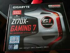 More details for gigabyte z170x gaming 7 atx & intel i5 6500 cpu & 8gb ddr4 corsair vengeance