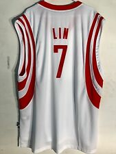 Adidas Swingman NBA Jersey Houston Rockets Jeremy Lin White sz 2X