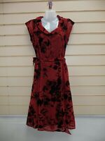 Joe Browns Dress Coral Size 10 Floral Detail   BNWT   A001