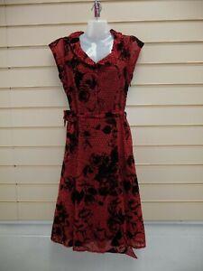 Joe Browns Dress Coral Size 10 Floral Detail   BNWT   A001