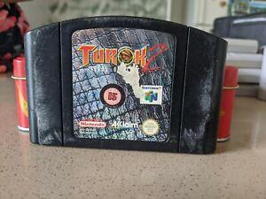 Turok 2 Nintendo 64 100% Genuine n64 | OZ Seller | Free Postage