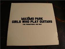 Slip Single: Maximo Park : Girls Who Play Guitars