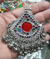 Afghan Kuchi Earrings Crescent Tribal Jewelry Bohemian Ethnic  Boho Gypsy