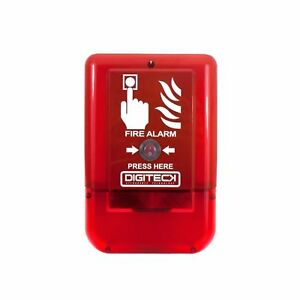 DIGITECK Plug & Play Site Alert Battery Operated Interlinkable Fire Alarm System
