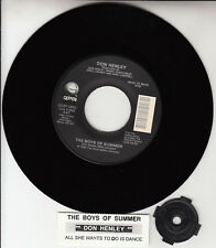 """DON HENLEY  The Boys Of Summer & All She Wants To Do Is Dance (EAGLES) 7"""" 45 NEW"""