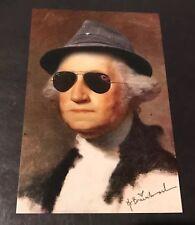 Mr Brainwash George Washington RARE Mini Pop Art Print Obama Trump MBW RayBan