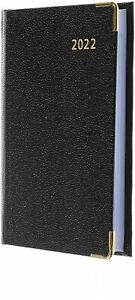 Collins Business Regal Pocket Diary with Pencil 2022 Week to View Black 392BP